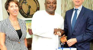 Photo: German Consul-General Visits Lagos Speaker