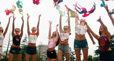 HOW WOMEN CELEBRATED 'NO BRA DAY'