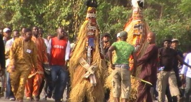 HORROR AS LORRY CRUSHES 5 MASQUERADES TO DEATH  DURING FESTIVAL