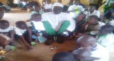 63-YEAR-OLD PRY SCHOOL PUPIL INSISTS ON STARTING FROM CLASS ONE