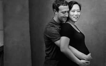 FACEBOOK FOUNDER SHARES TOUCHING PHOTO WITH PREGNANT WIFE