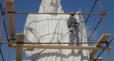 BIZMAN BUILDS 'BIGGEST' STATUE OF JESUS IN AFRICA