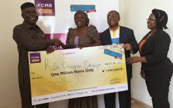 FCMB Excites Customers with  Cash, Gifts at ''Millionaire Promo Season 2'' Draws