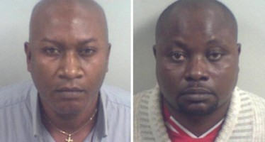 NIGERIANS JAILED OVER  £25M INTERNET FRAUD