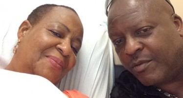 SHINA PETERS' WIFE THANKS GOD AFTER SURVIVING CANCER