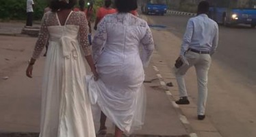 BRIDE STRANDED AFTER LAGOS MARATHON RESTRICTED MOVEMENT