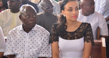 EDO FIRST LADY, LARA OSHIOMHOLE DENIES GOSSIP REPORT THAT SHE AND GOV. OSHIOMHOLE ARE SET TO DIVORCE