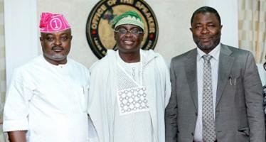 Ex-Lagos Dep Governor, Femi Pedro Visits Lagos Speaker, Obasa