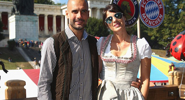 HOW PEP GUARDIOLA'S WIFE TURNED HIM TO 'THE MOST STYLISH ...