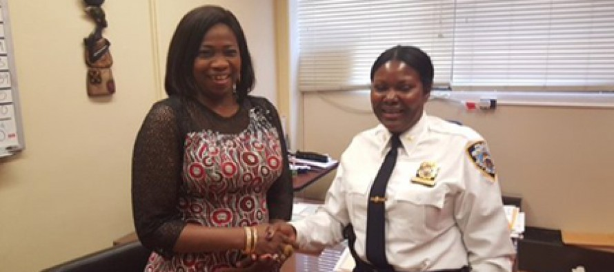 Dabiri Meets Nigerian-born Funmi Obe, First Black woman to Become New York's Deputy Chief of Police