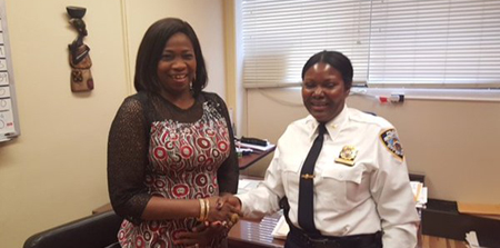 OrijoReporter.com, Funmi Obe, First Black woman to Become New York's Deputy Chief of Police