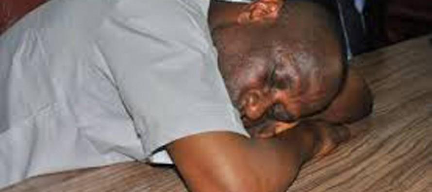 "DSS Parades ""Dead Ekiti Lawmaker"""