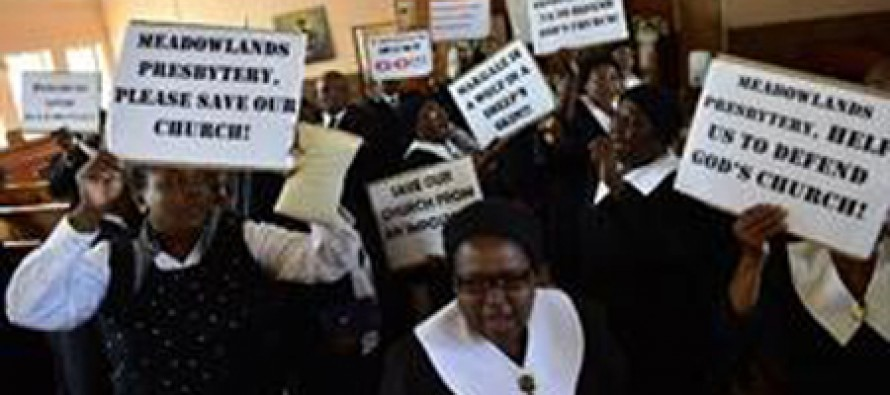 Protest Over Pastor's affair with church member's wife