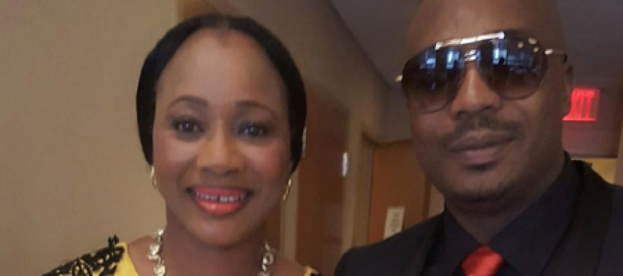 Clarion Chukwura flaunts New Husband at Award