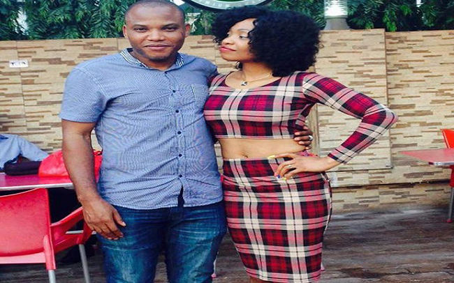 OrijoReporter.com Nnamdi Kanu and his wife