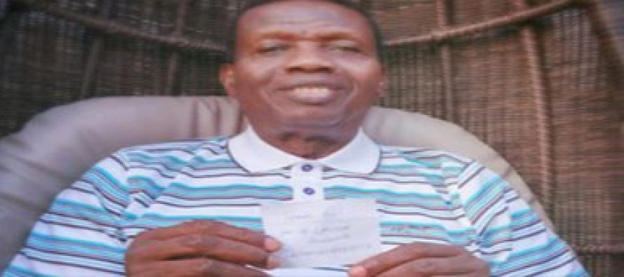 PASTOR ADEBOYE ALMOST CONFIRMS FOOD POISON RUMOUR