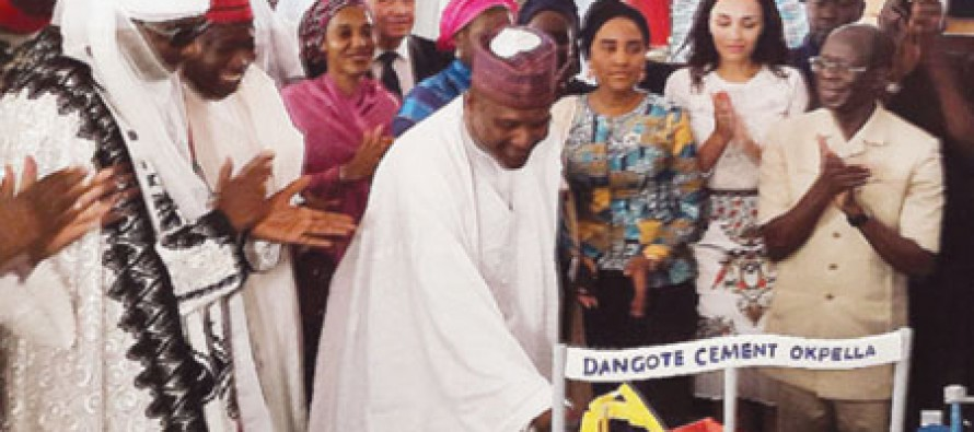 Dangote Celebrates 59th Birthday with $1bn Cement Plant Construction