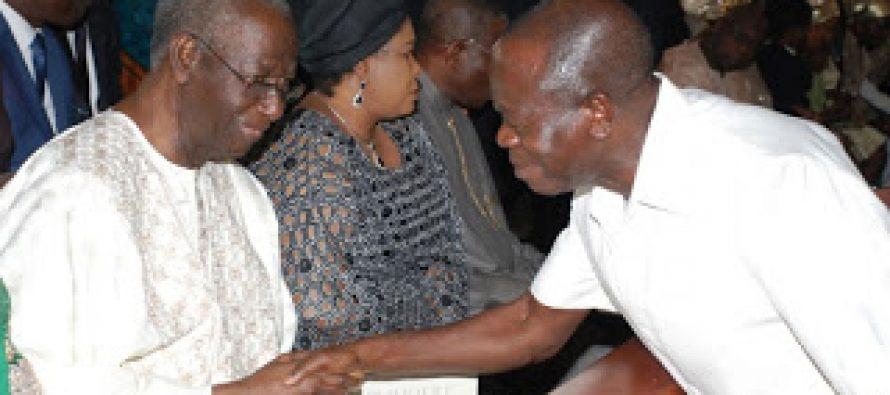Gov. Oshiomhole, Chief Anenih Reconcile
