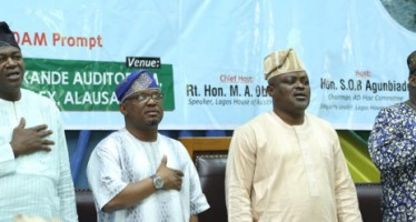 We're Committed To Safe Water Transport, Says Speaker Obasa