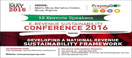 OrijoReporter.com, E-Revenue Conference to hold in Abuja