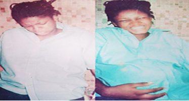 Omotola shares pregnant throwback photos