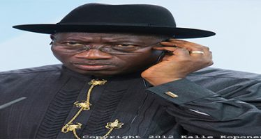 Jonathan accused of sponsoring violence