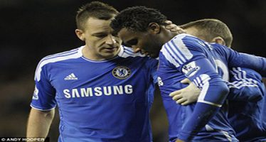 Mikel Obi named Chelsea's Laziest player