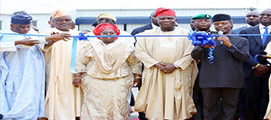 Prof. Osinbajo's visit to Lagos  – in pictures