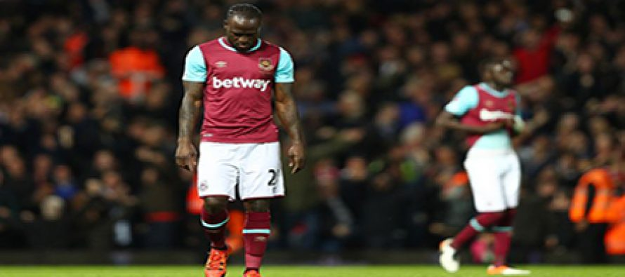 West Ham releases Victor Moses