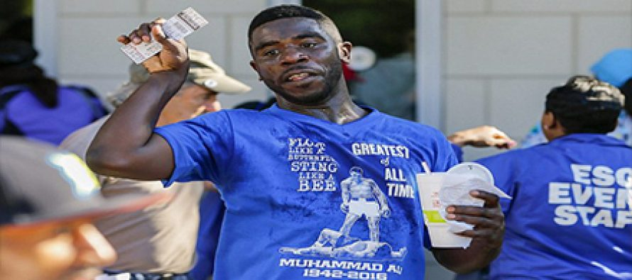 Touts selling Muhammad Ali's memorial service ticket
