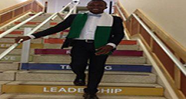 Fresh graduate on leadership training programme in US dies