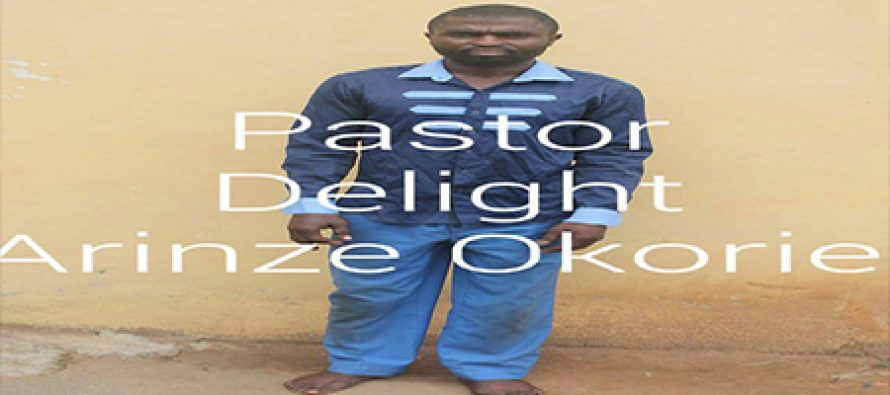 Pastor arrested for armed robbery