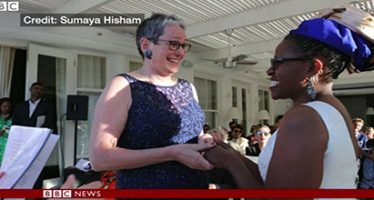 Desmond Tutu's daughter sacked as priest for marrying woman