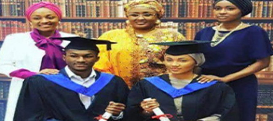 Buhari's children graduate from UK university