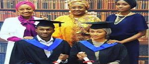 OrijoReporter.com, Buhari's children graduate