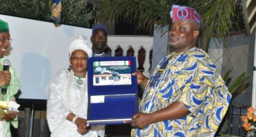 Lagos Speaker receives award In Italy