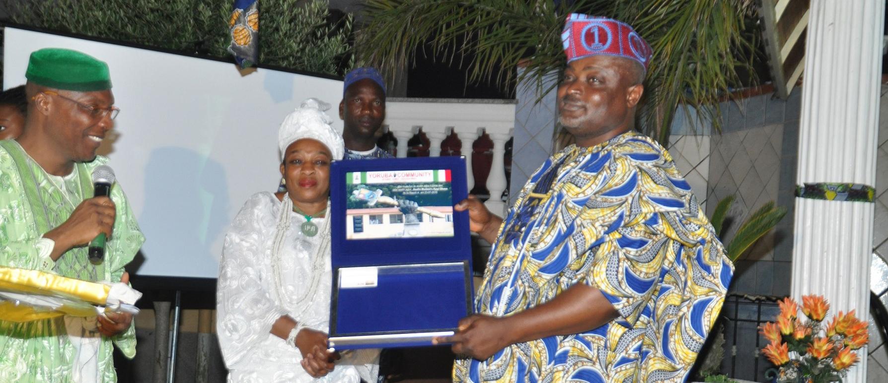 OrijoReporter.com, Lagos Speaker Italy award