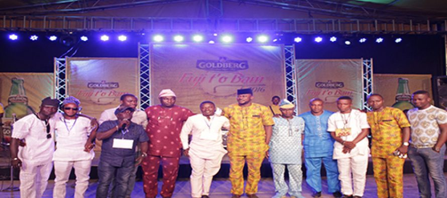 2016 Goldberg Fuji t'o Bam final holds in Ibadan