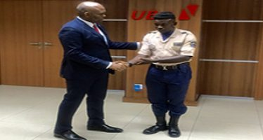 UBA security officer returns $10,000 he found on the floor