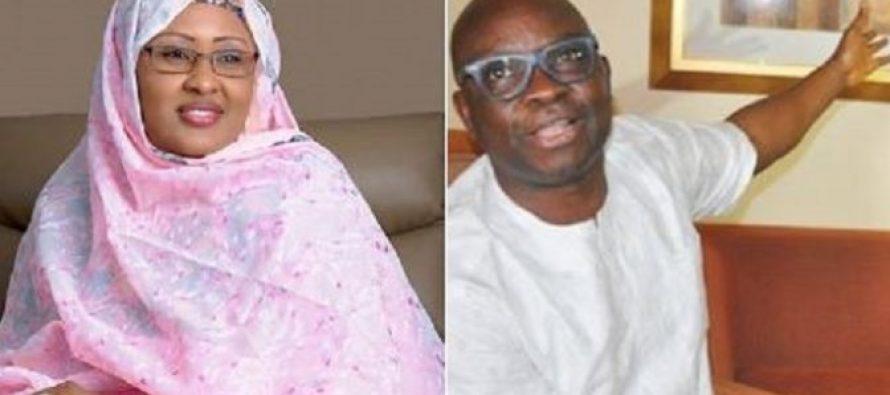Aisha Buhari sues Fayose over Halliburton scandal