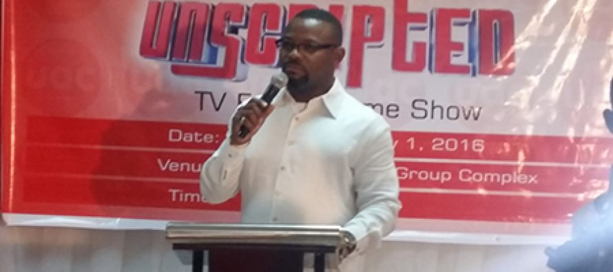 TV game show UAC Unscripted featuring Okey Bakassi, celebrity couples, unveiled