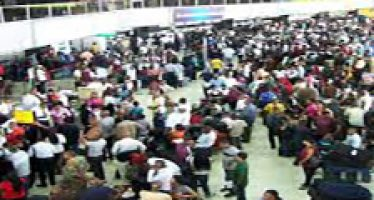 Air passengers face flight cancellations, delays