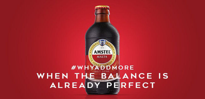 OrijoReporter.com, Amstel Malta 'Why Less is More'