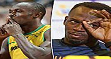Usain Bolt sparks rumour he's Illuminati member following oracular hand gestures in Rio