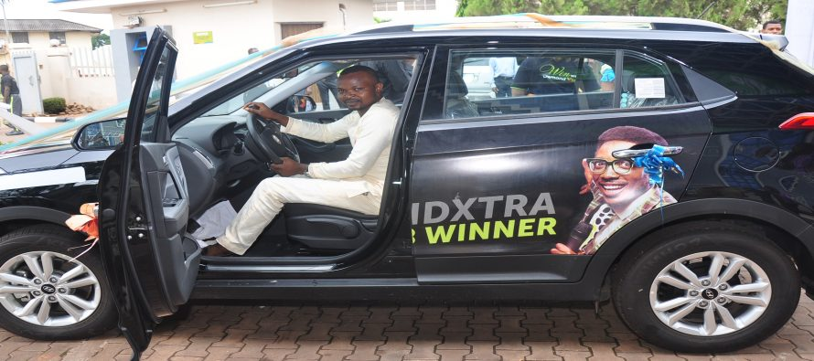 Diamond Bank gives customer SUV, N25m to others in Diamond Xtra Savings account promo