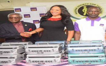FCMB Donates Braille Machines to the Blind