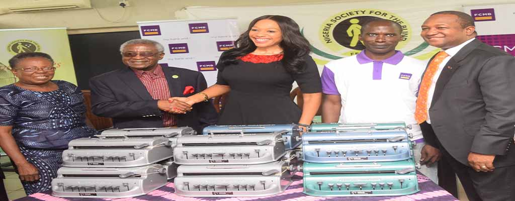 OrijoReporter.com, FCMB Donates Braille Machines to the Blind