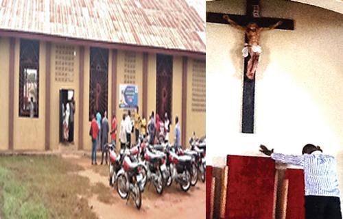 OrijoReporter.com, jesus-like image in Benue church