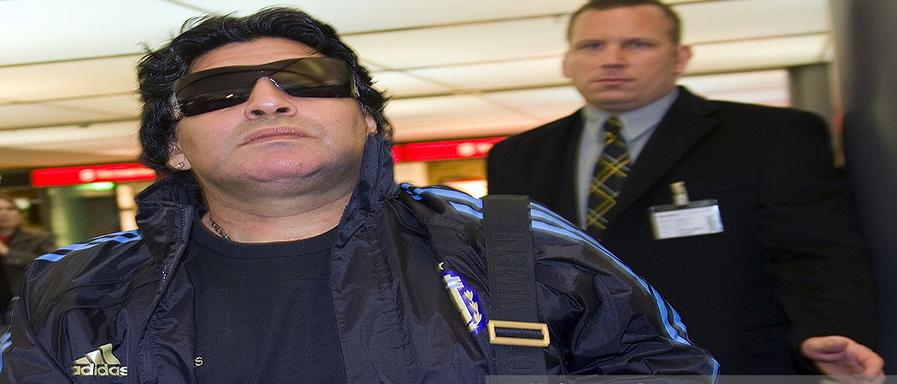 OrijoReporter.com, Diego Maradona stolen passport