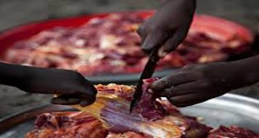 Woman deposits child for N1,500 cow meat
